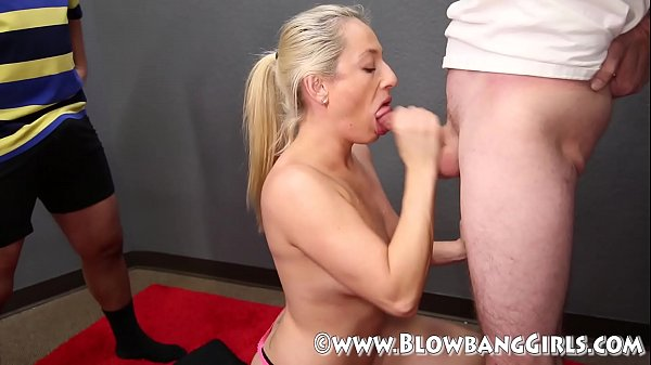 39 Year Old MILF Sucks Off 6 Guys