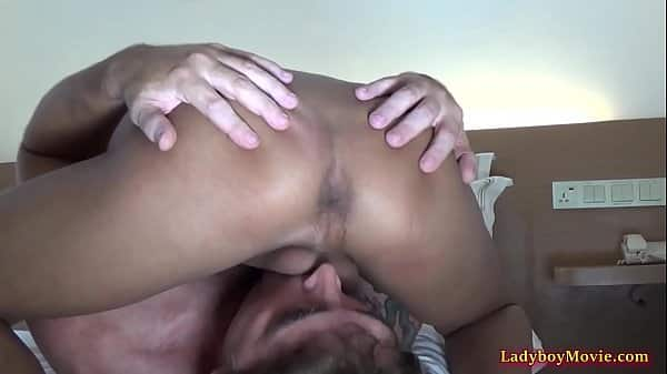Accidental Mouthful For Guy From Ladyboy Sherry