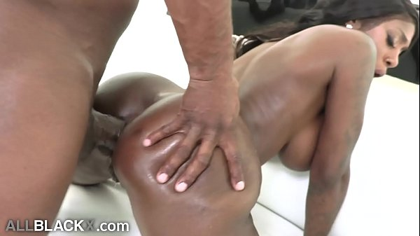 AllBlackX – Ebony Mystique's First Anal