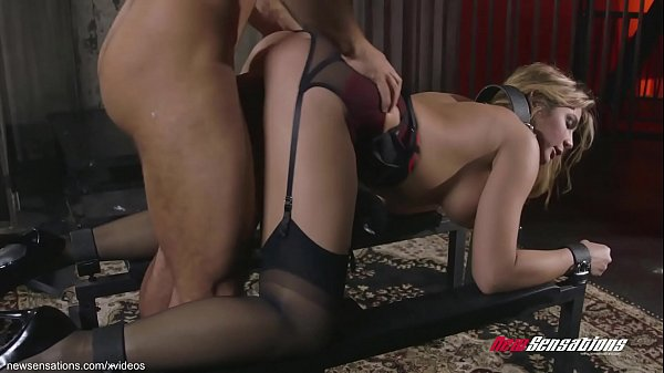 Blair Williams Abused and Fucked By White Stud