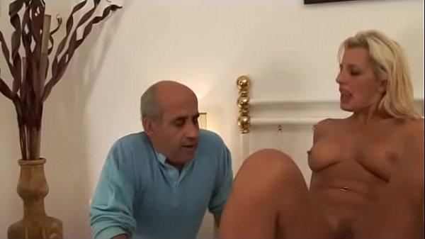 Wonderful blonde milf riding a cock!