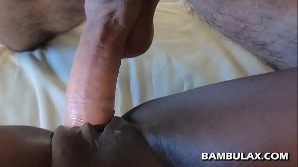 Young ebony step daughter blowjob and creampie