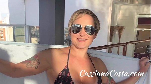 Depois do Sexo. Relaxando gostoso – Sigam no Instagram @polaca cassiana007